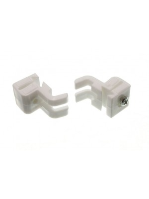 CURTAIN GLIDE RAIL STOP ENDS FITS SWISH SOLO GLYDE DOVETAIL TYPE