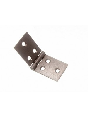 PAIR OF BACK FLAP HINGES STEEL SC SELF COLOUR 32MM X 83MM
