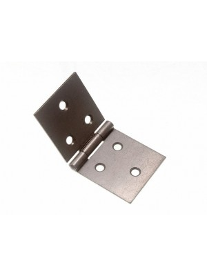 PAIR OF BACK FLAP HINGES STEEL SC SELF COLOUR 38MM X 89MM