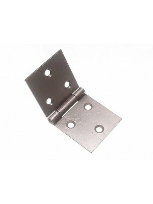 PAIR OF BACK FLAP HINGES STEEL SC SELF COLOUR 50MM X 107MM