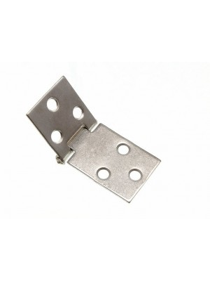 PAIR OF BACK TABLE FLAP HINGES 32MM ZP ZINC PLATED STEEL