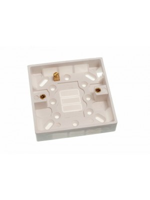 MOULDED LIGHT SWITCH SURFACE MOUNTED PATTRESS BOX 1 GANG