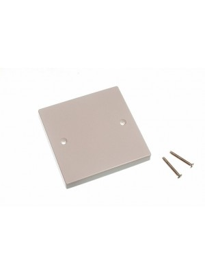 ELECTRIC SOCKET SWITCH BLANKING PLATE SINGLE 1 GANG WALL COVER