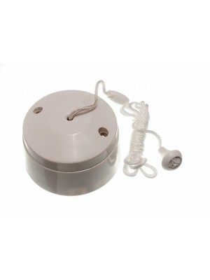 CEILING PULL CORD LIGHT SWITCH 5 AMP 2 - WAY