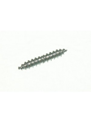 DOWEL SCREWS DOUBLE ENDED WOOD TO WOOD BZP 1 1/2 X 3/16 INCH BZP