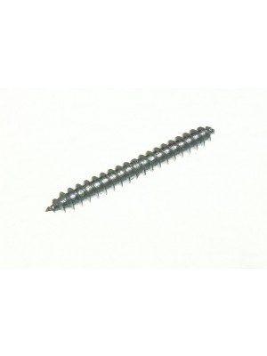 DOWEL SCREWS DOUBLE ENDED WOOD TO WOOD BZP 2 X 1/4 INCH BZP STEEL