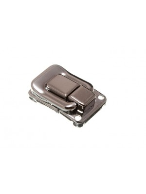 CASE CATCH CLIP OVER TOGGLE LATCH SQUARE 39MM X 29MM NP