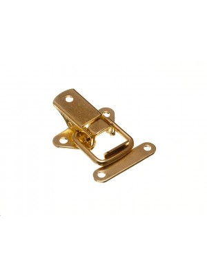 CASE CATCH TOGGLE CLIP OVER LATCH 45MM EB BRASS PLATED STEEL