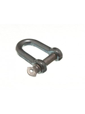 D SHACKLE TOWING LINK HITCH FASTENER M10 BZP WEATHER PROOF STEEL