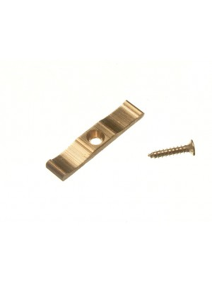 TURN BUTTON CATCH GRANNY SHED CUPBOARD DOOR LATCH 38MM BRASS