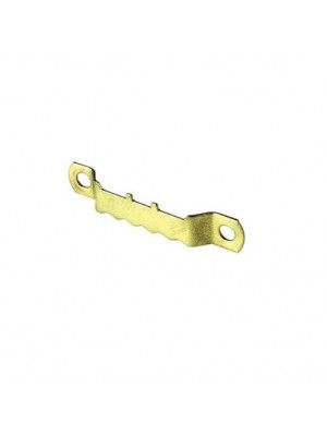 """PICTURE HANGING HOOKS SAW TOOTH 1 5/8 """" EB STEEL KNOCK IN + FIXINGS"""