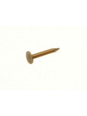 BRASSED PINS FOR MINI JEWELERY BOX CABINET CRAFT HINGES 10mm x 1mm