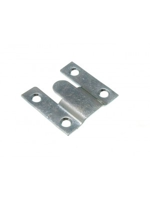 PAIR OF FLUSH PICTURE CONCEALED INTERLOCKING MOUNT 35MM X 35MM