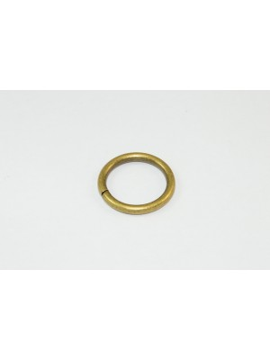 CURTAIN DRAPE RINGS ID 20mm ANTIQUE EFFECT PLATED STEEL ROD / POLE