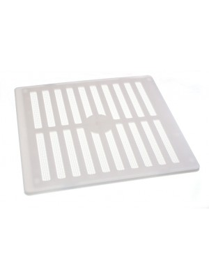 Adjustable Air Vent Louvre Grille Cover Hit & Miss + Flyscreen 9 x 9