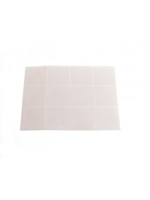 1 SHEET OF 12 PADS STICK ON SELF ADHESIVE 1/2 inch  1 inch 13MM x 25MM