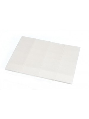 1 SHEET OF 24 PADS STICK ON SELF ADHESIVE 1/2 inch  1 inch 13MM x 25MM