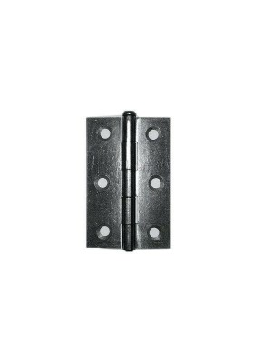 BUTT HINGES ( 1 PAIR ) LOOSE PIN TYPE 75MM 3 inch STEEL SELF COLOUR