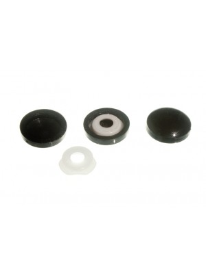 PLASTIDOME CLICK ON SCREW COVER ONLY BLACK