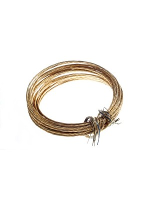 ROLL OF BRASS PICTURE WIRE 12KG BREAKWEIGHT 6 METRES