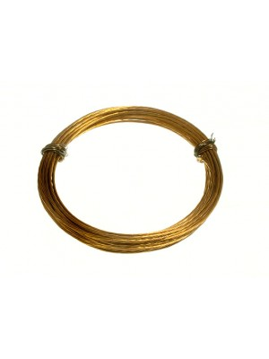 ROLL OF BRASS PICTURE WIRE N0. 2 18KG BREAKWEIGHT 3 METRES