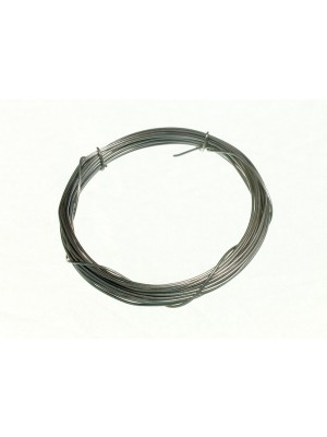 ROLL OF PICTURE WIRE STEEL 0.6MM 3 METRE ZP ZINC PLATED
