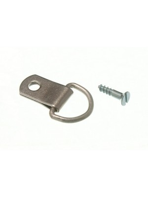 PICTURE D RING SINGLE NP NICKEL PLATED STEEL HANGERS