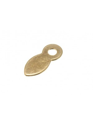PICTURE TURN 19MM ( 3/4 inch ) EB BRASS PLATED
